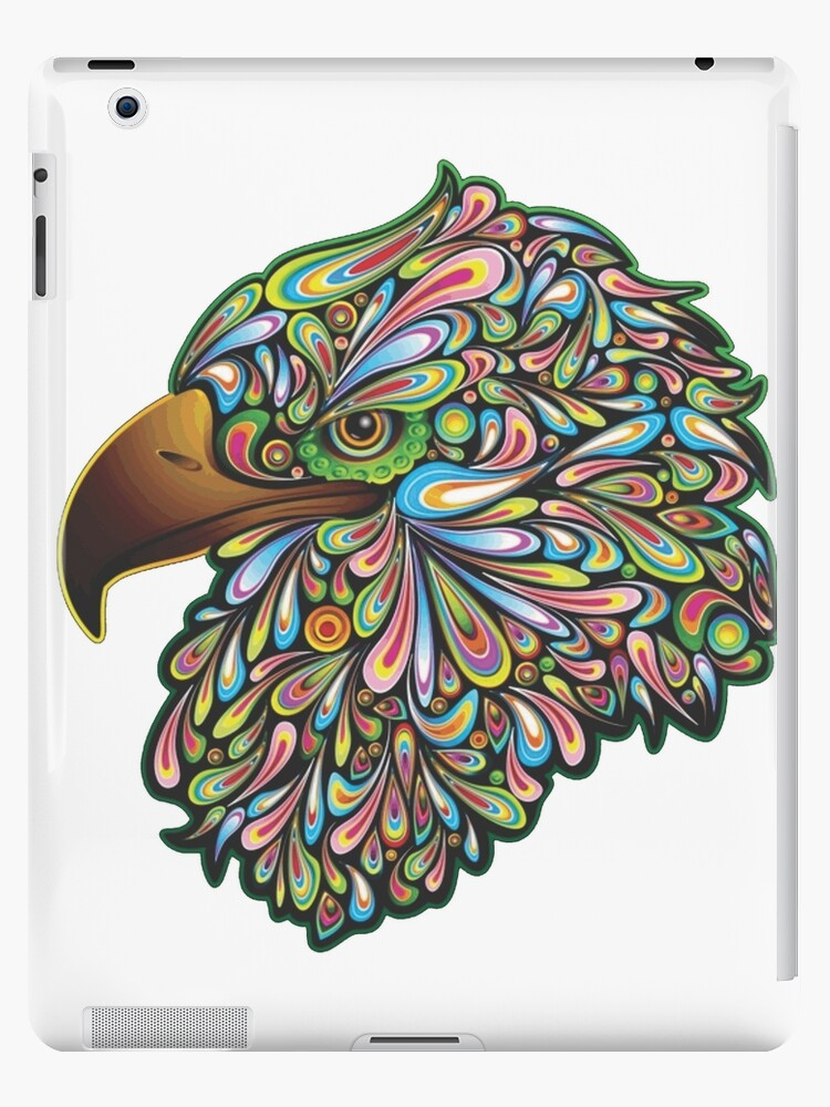 Psychedelic Eagle  by FortuneCookieTs