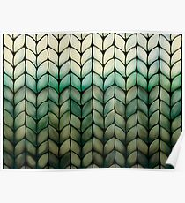 Olive Grove Knit Poster