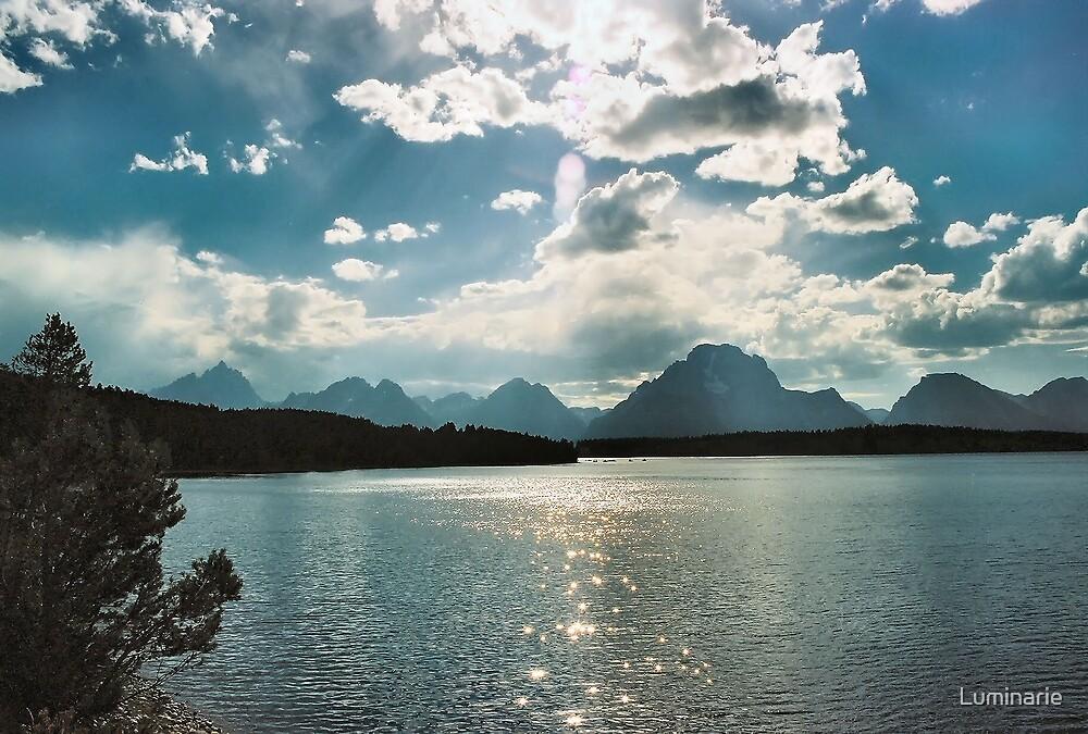 The Grand Tetons by Luminarie