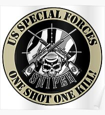 sSPECIAL FORCES MERCHANDISE Poster