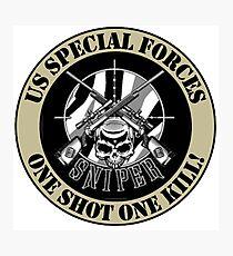 sSPECIAL FORCES MERCHANDISE Photographic Print