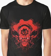 Gears Of War 4 - Red Skull Graphic T-Shirt