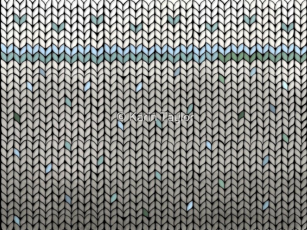 Mint Leaf Knit by Karin Taylor