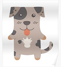 Catahoula Cur Poster