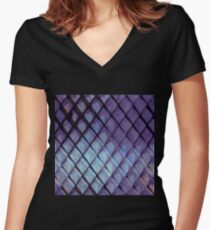 ABS#3 Women's Fitted V-Neck T-Shirt