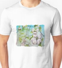 Cottage Lake in Spring Unisex T-Shirt