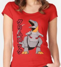GRIMLOCK -  グリムロック Women's Fitted Scoop T-Shirt
