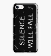 Silence will fall  • Doctor Who iPhone Case/Skin