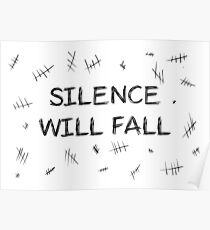 Silence will fall  • Doctor Who Poster