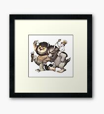 Where the Wild Things Are Framed Print