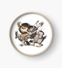 Where the Wild Things Are Clock