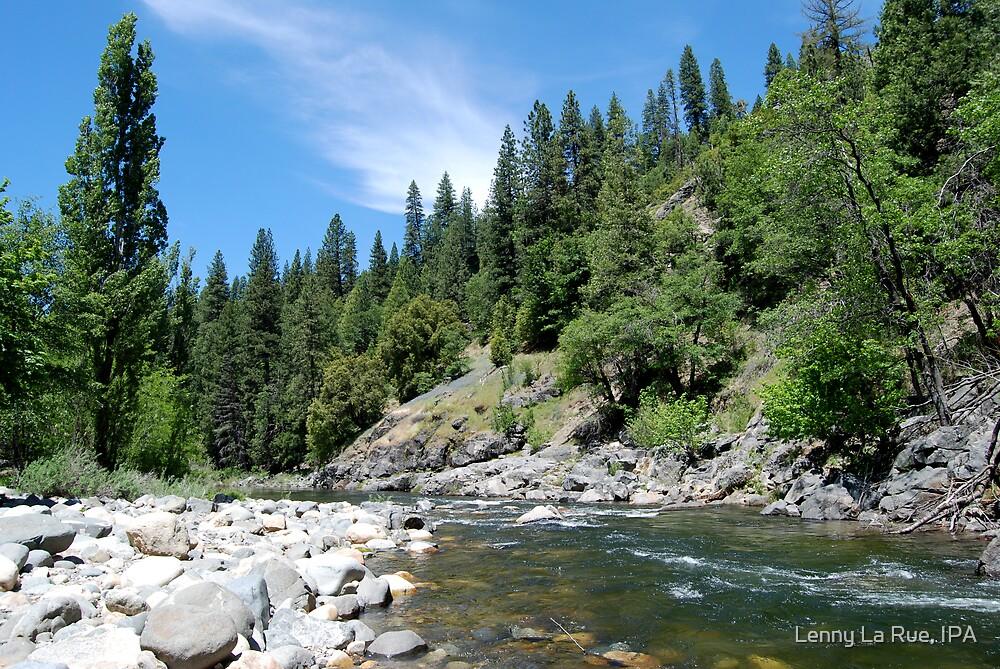 Upper Truckee River on-the-rocks by Lenny La Rue, IPA