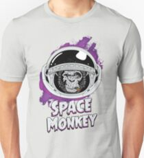 Space Monkey Text Edition Unisex T-Shirt