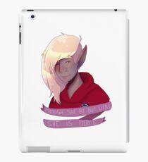 best girl iPad Case/Skin