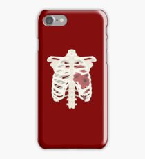 Rib Cage of Roses iPhone Case/Skin