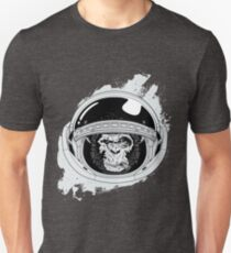 Space Monkey White space edition Unisex T-Shirt