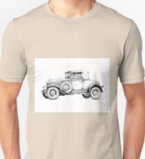 Old classic car retro vintage 01 Unisex T-Shirt