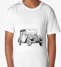 Old classic car retro vintage 02 Long T-Shirt