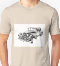 Old classic car retro vintage 03 Unisex T-Shirt