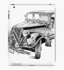 Old classic car retro vintage 03 iPad Case/Skin