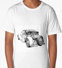 Old classic car retro vintage 04 Long T-Shirt
