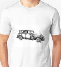 Old classic car retro vintage 05 Unisex T-Shirt