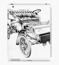 Old classic car retro vintage 06 iPad Case/Skin