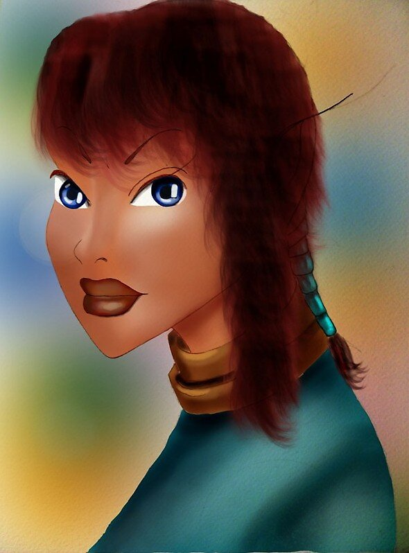 Elf lady by Roberta Ponte