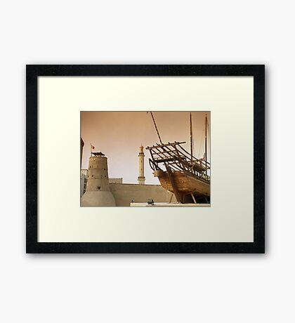 Fort Fahidi, Dubai Framed Print