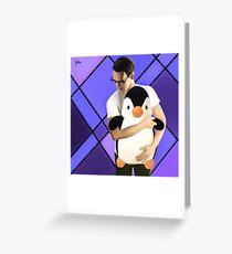 Edward Nygma + Penguin Greeting Card
