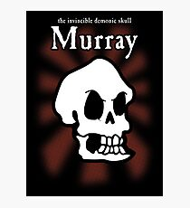 Monkey Island - Murray the Skull Photographic Print