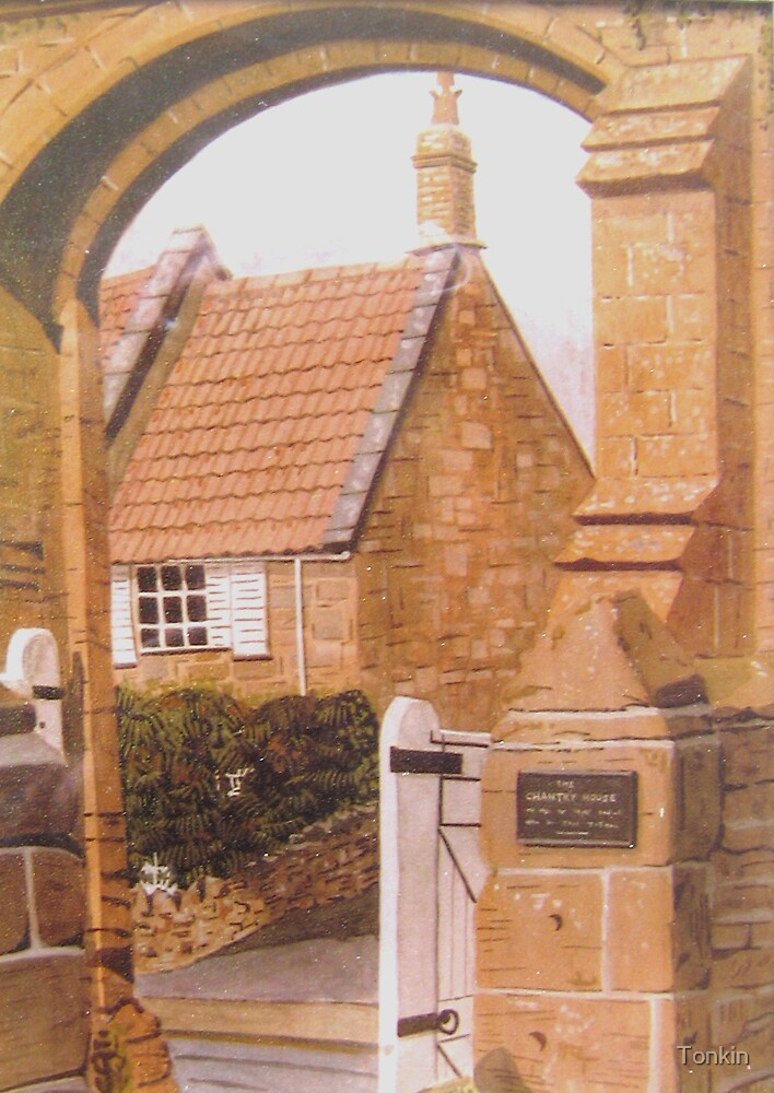 Priory Arch, Stoke-sub-Hamdon by Tonkin