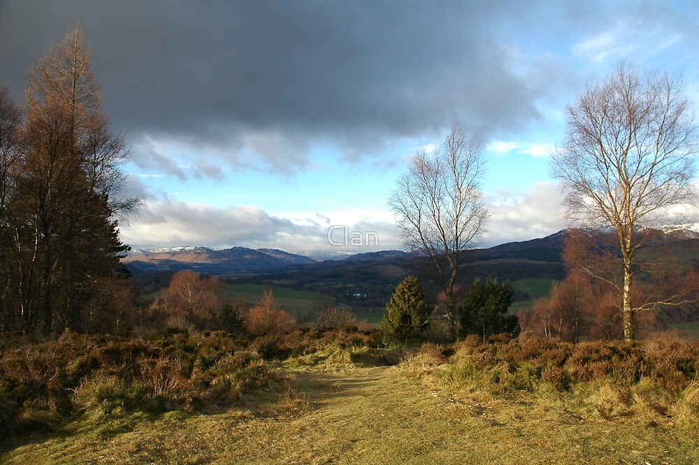 Clan: Scottish landscape by Clan