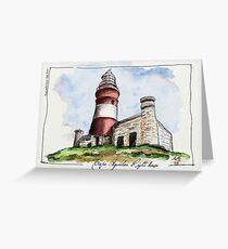 Cape Agulhas Lighthouse Greeting Card