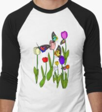 Garden of MAGIC Men's Baseball ¾ T-Shirt