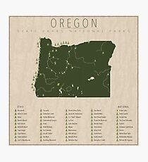 Oregon Parks Photographic Print