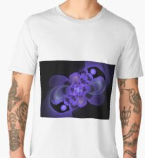 Beautiful abstract fractal flower Men's Premium T-Shirt