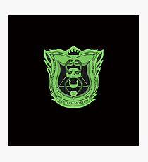 King's Dominion Crest - Green Photographic Print