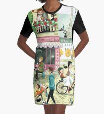 Paris Graphic T-Shirt Dress
