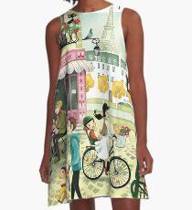 Paris A-Line Dress