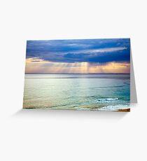 Sun of Portsea Greeting Card