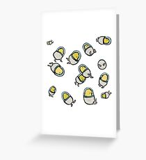 space chicks Greeting Card