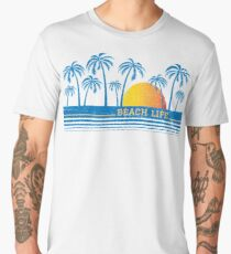 Beach Life 90 Men's Premium T-Shirt