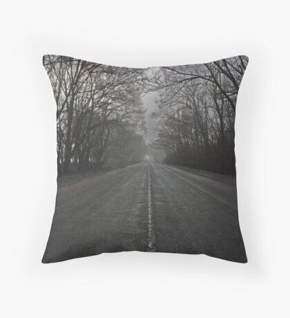 Road Ahead Throw Pillow
