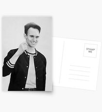 Cory Michael Smith - Pencil drawing Postcards