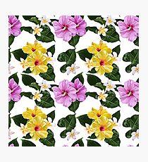 Flower Power Pattern Photographic Print