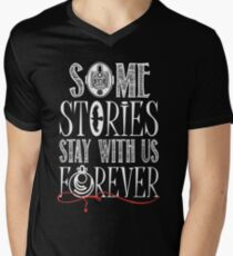 Some Stories Stay With Us Forever Men's V-Neck T-Shirt