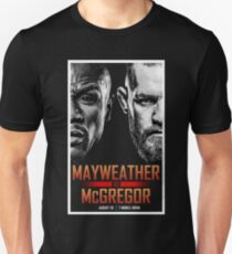 MMA vs BOXING - Super Welterweight Boxing Match T-Shirt