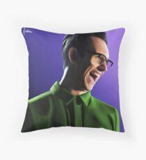 The Riddler - Edward Nygma Throw Pillow