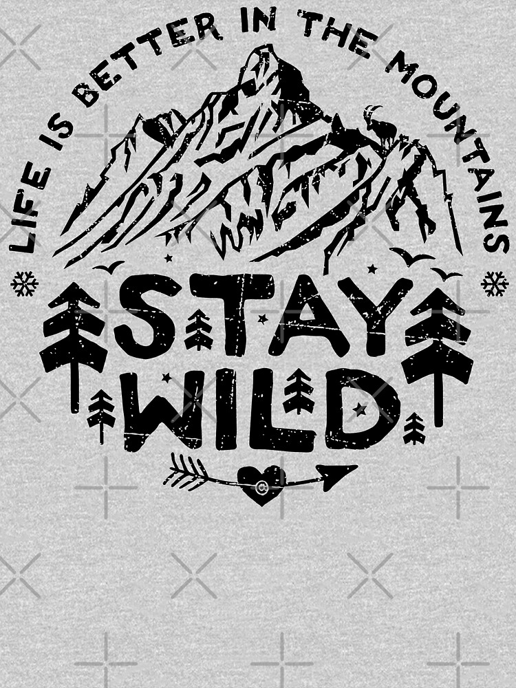 Stay Wild negro de posay